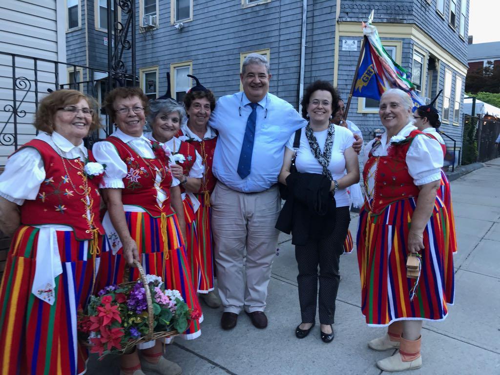 Abertura das Festas em New Bedford com Pedro Ramos