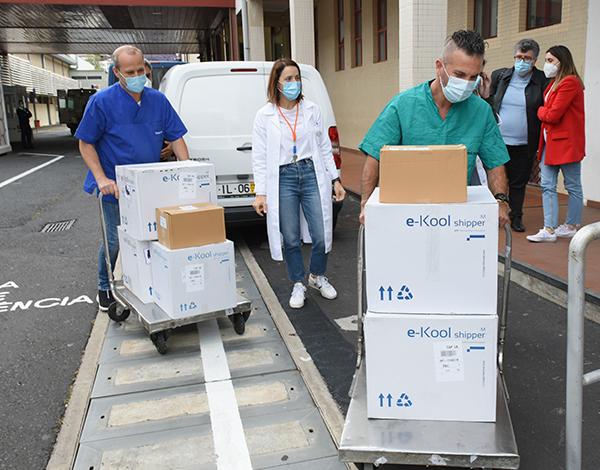 SESARAM recebeu vacinas contra a COVID-19