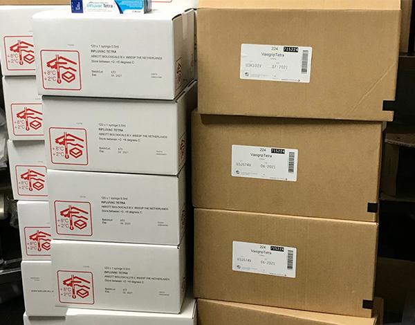 SESARAM recebeu mais 7 mil vacinas