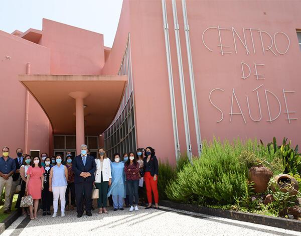 Pedro Ramos visitou centros de saúde no concelho de Santana
