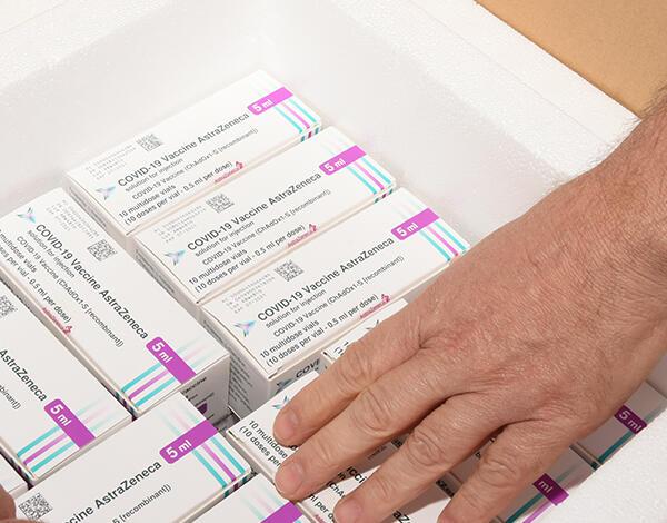 Antecipação da administração da 2ª dose da Astrazeneca