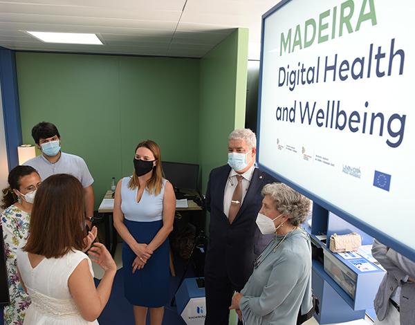 Eurodeputada destacou o bom exemplo da Madeira na aplicação dos fundos europeus nos projetos da Saúde