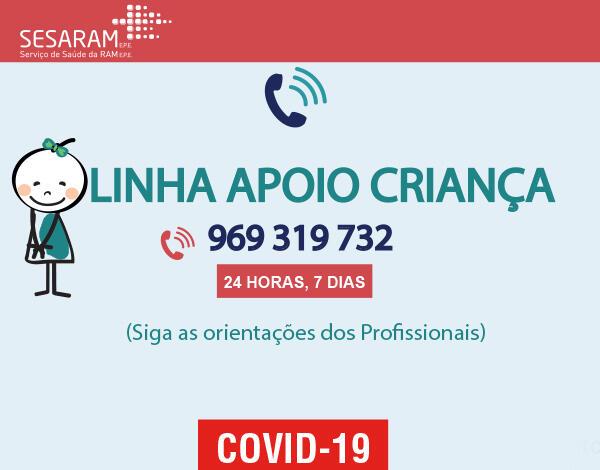 SESARAM cria linha telefónica de apoio à criança