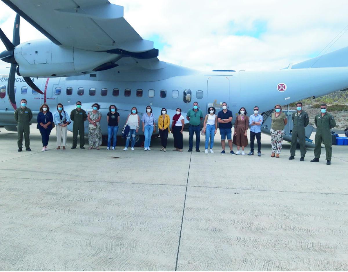 """""""Open Day"""" dedicado à vacinação contra a COVID-19 no Porto Santo"""