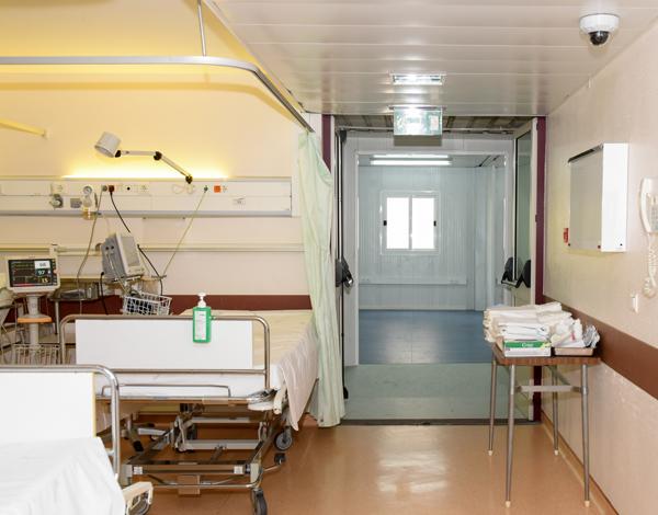 SESARAM concluiu a instalação da estrutura de acolhimento temporário nas urgências do Hospital