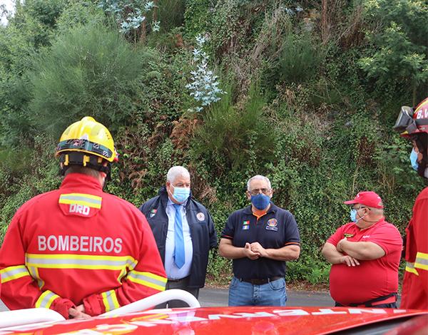 Pedro Ramos enaltece trabalho das Equipas de Combate a Incêndios Florestais