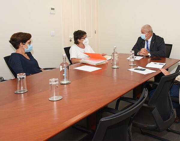 Secretário Regional de Saúde e Proteção Civil reúne com Sindicato Independente dos Médicos