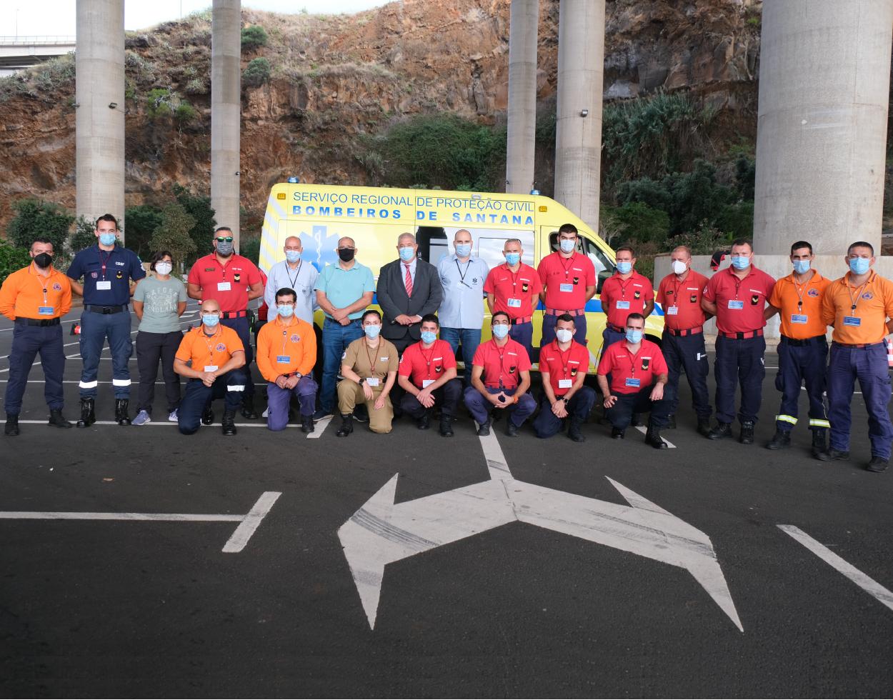 """Proteção Civil promove formação em """"Condução Defensiva de Ambulância"""""""