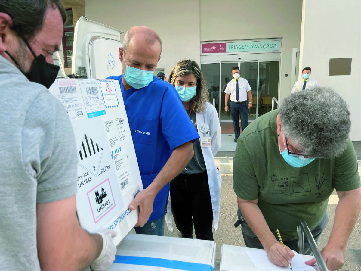 SESARAM recebeu mais 17.550 vacinas contra a Covid-19