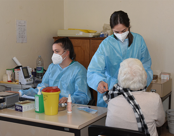 Mais 186 idosos vacinados nos concelhos de São Vicente e Porto Moniz
