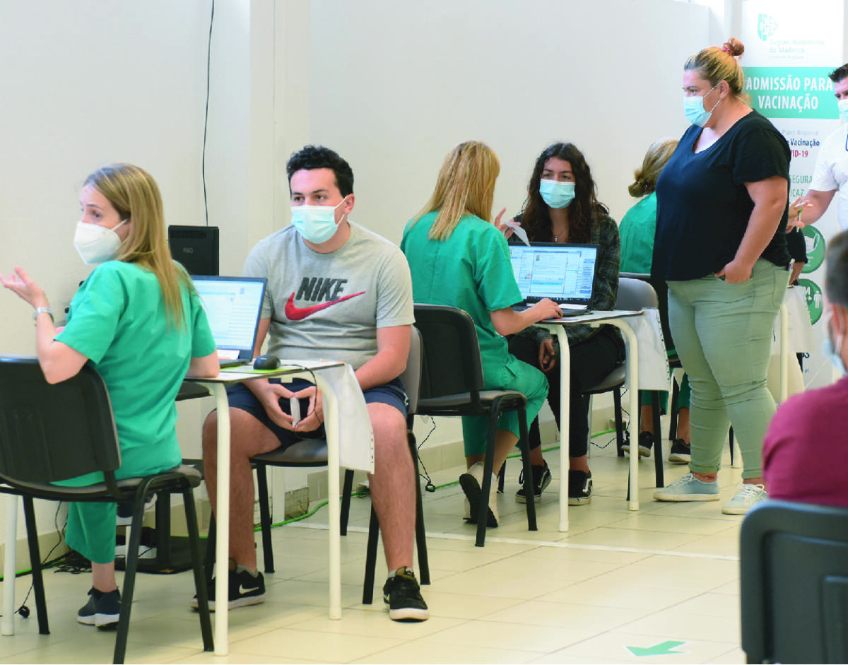 Equipa de Vacinação de Santa Cruz administrou 502 vacinas a jovens entre os 12 e os 17 anos