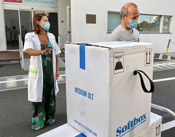 17.500 vacinas contra a COVID-19 rececionadas na farmácia do SESARAM