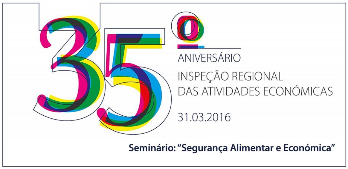 """35º Aniversário IRAE - Seminário """"Segurança Alimentar e Económica"""""""