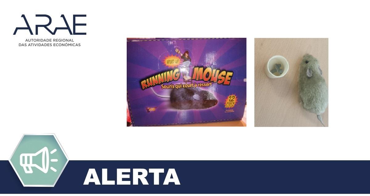 Alerta - Brinquedos - RUNNING MOUSE