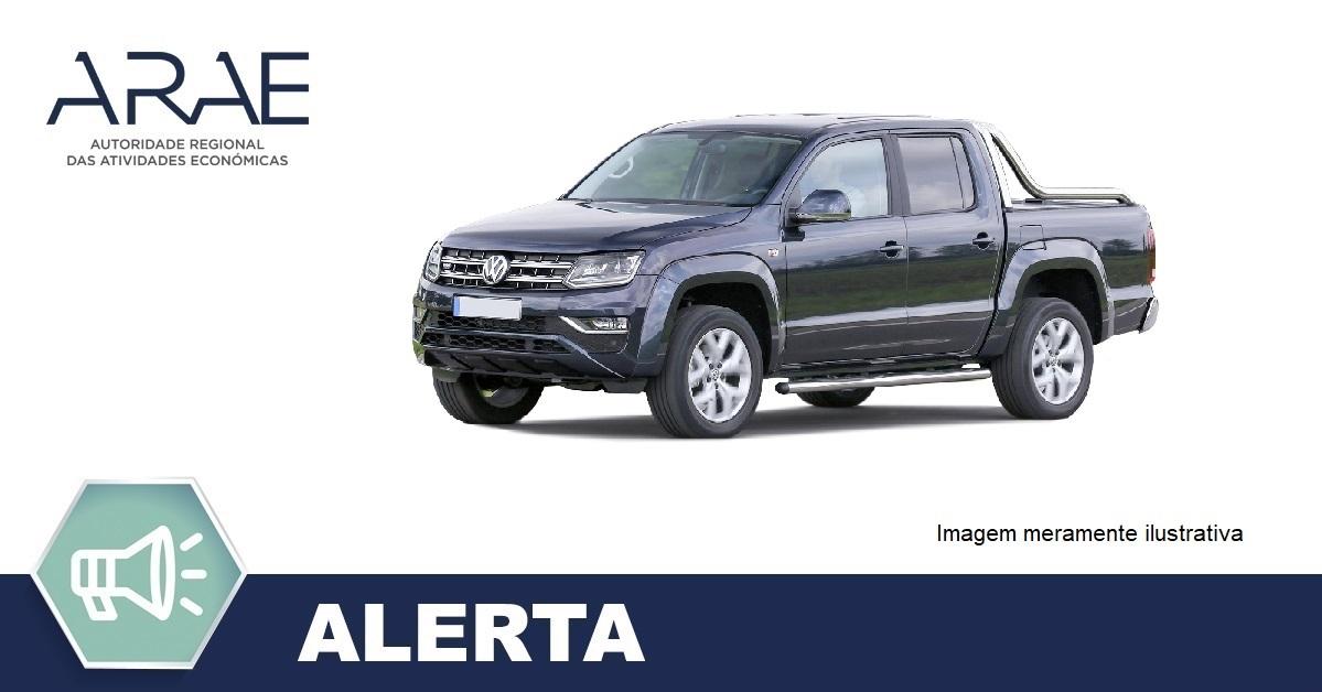 Alerta – Anomalia nos veículos VW Pick -up Amarok
