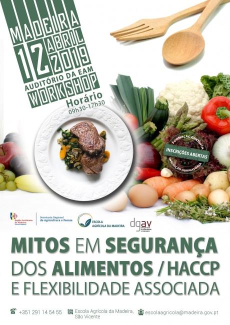"""Workshop """"Mitos em Segurança dos Alimentos/HACCP e Flexibilidade Associada"""""""
