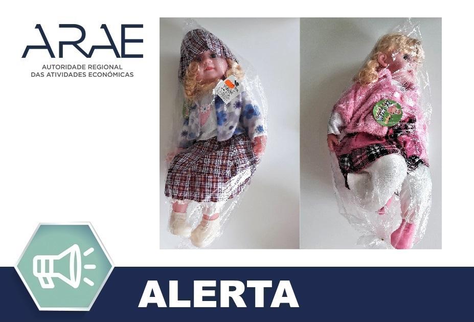"""Alerta ARAE – Brinquedo - """"Boneca"""""""