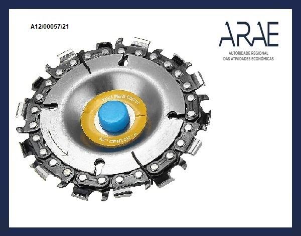 Alerta ARAE – Discos (lâminas) de serra circular, da marca Drillpro, comercializado em comércio on-line