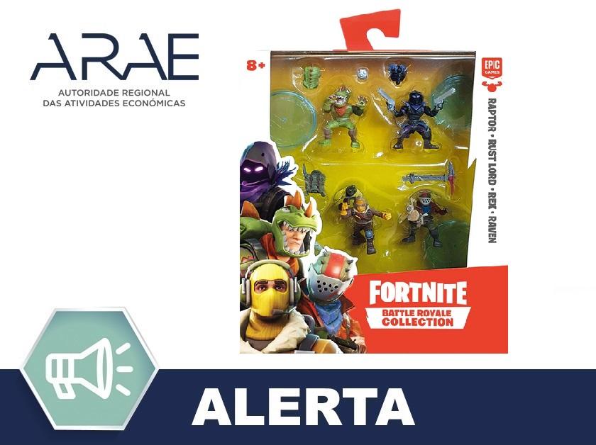 """Alerta ARAE – Brinquedo """"Battle Royale Collection"""""""