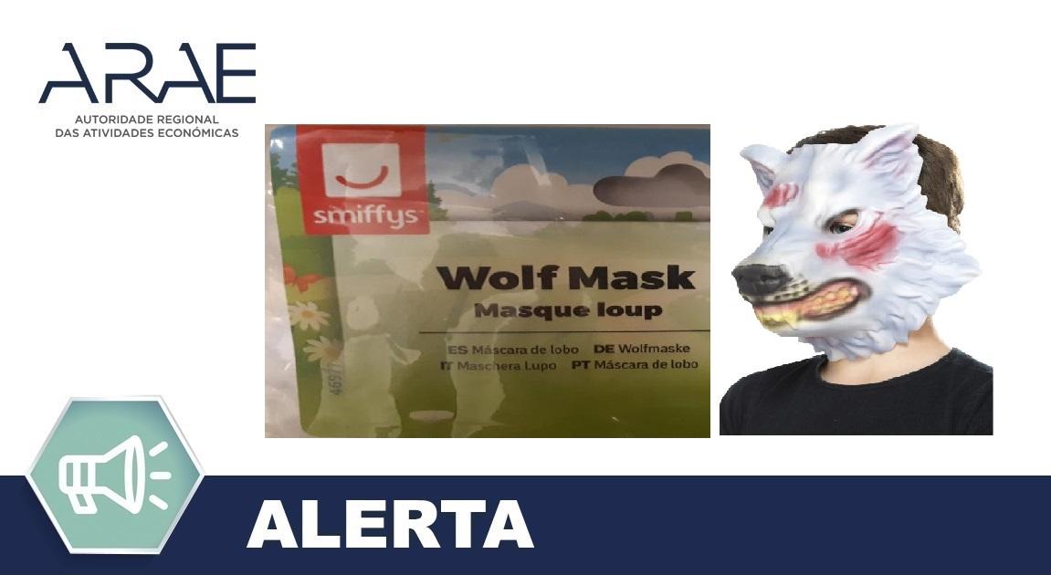 Alerta ARAE – Brinquedo – Máscara de Lobo