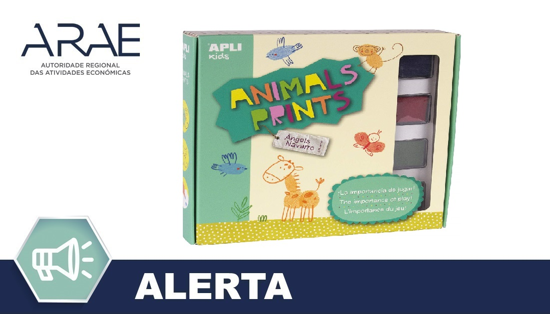 "Alerta ARAE – Brinquedo –""Animals Prints – Angels Navarro Collection"""