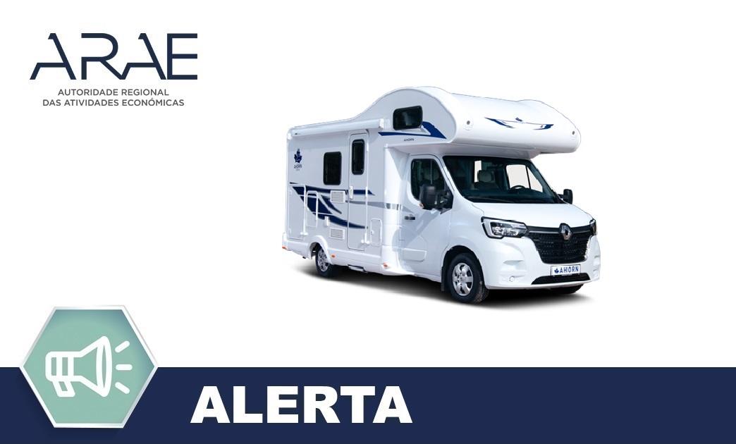 Alerta ARAE – Autocaravanas Ahorn Camp Katamarano