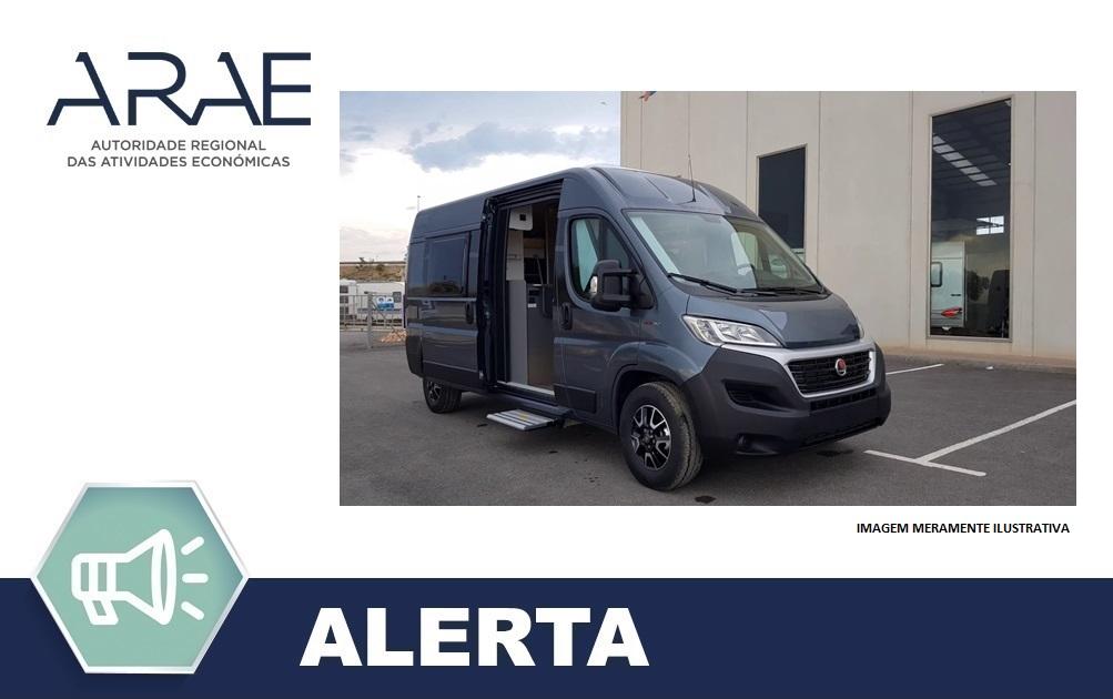 Alerta ARAE – Autocaravanas Fiat-Sunlight Cliff