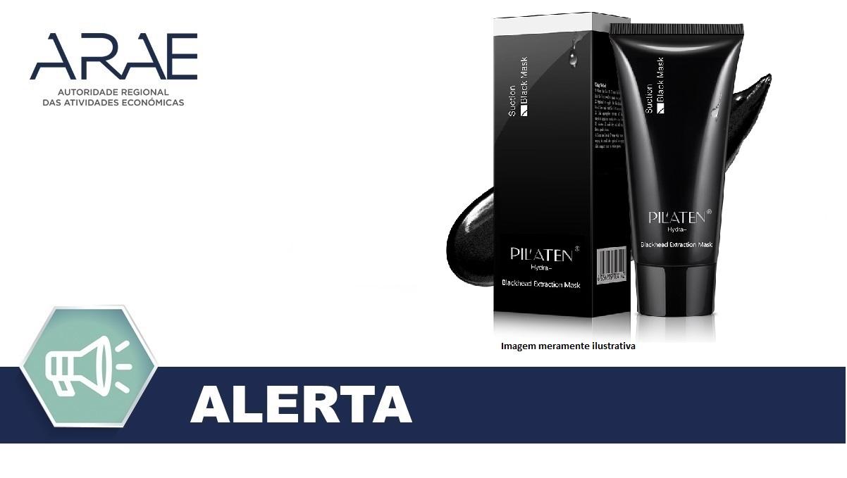 Alerta - Retirada do produto cósmetico Hydra-Suction Black Mask da marca Pil´Aten
