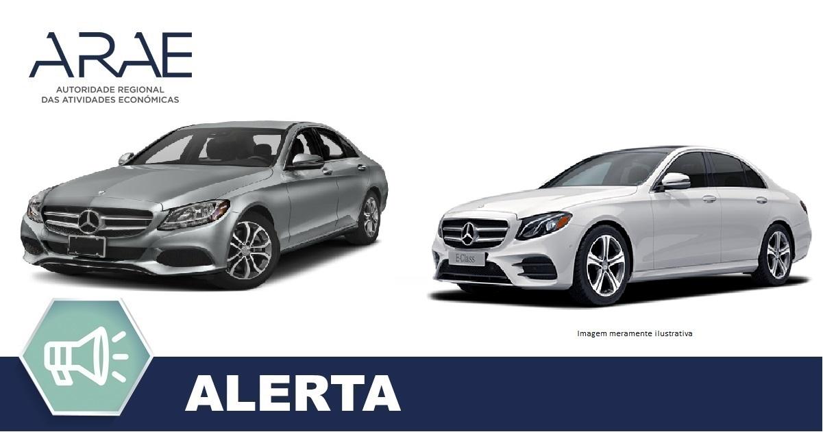 Alerta- Mercedes Classe C e Classe E