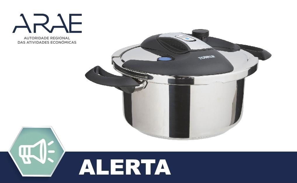 """Alerta ARAE – Acessório de Cozinha – Panela de Pressão """"TOWER"""""""