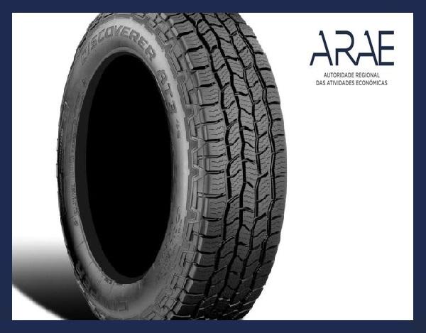 """Alerta ARAE – Comunicação recolha produto pela """"Cooper Tire and Rubber Company (Cooper Tire)"""" ( Pneus Cooper Tire)"""