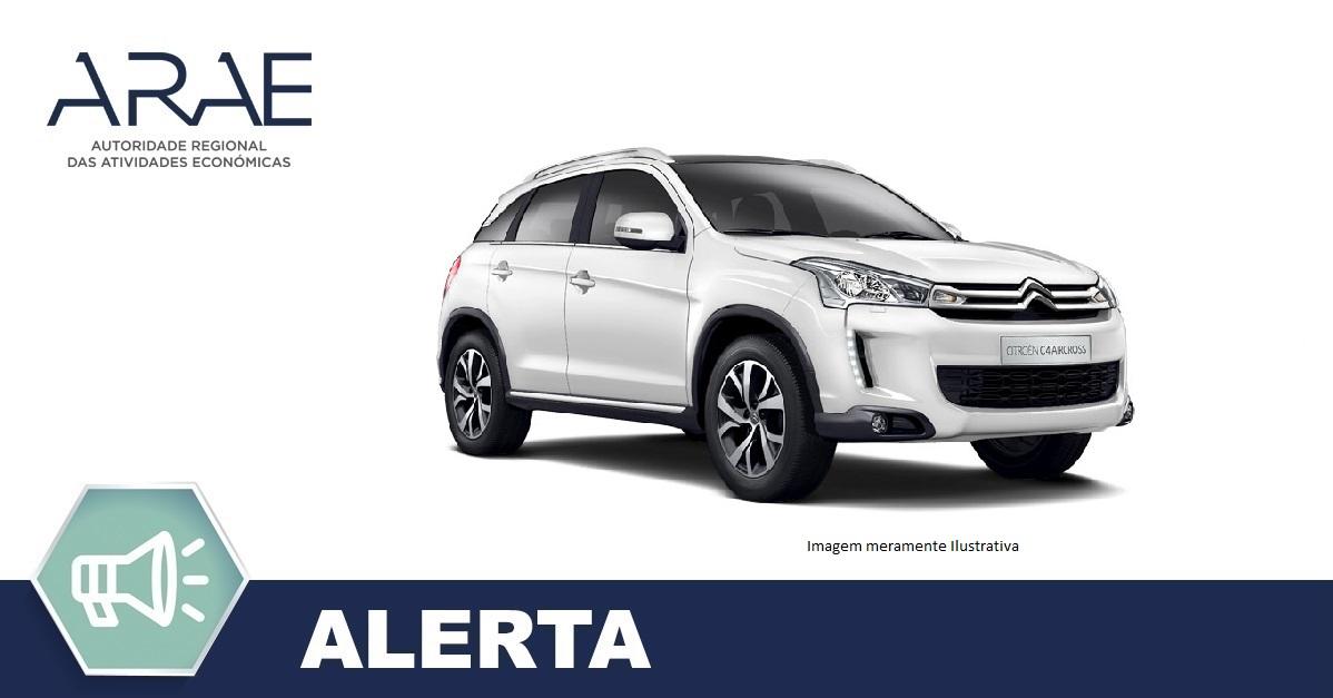 Alerta - Citroën C4 Aircross