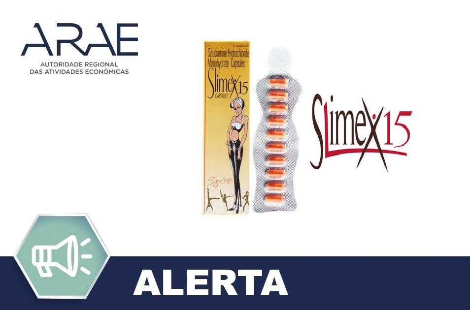 Produto ilegal - Slimex