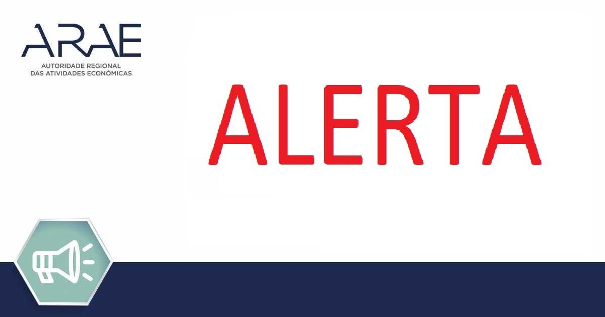 Alerta ARAE – Reboque da marca Temared