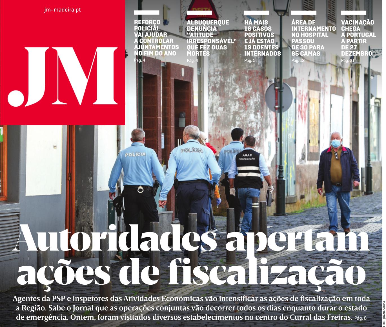 in JM-Madeira, edição de 18/12/2020