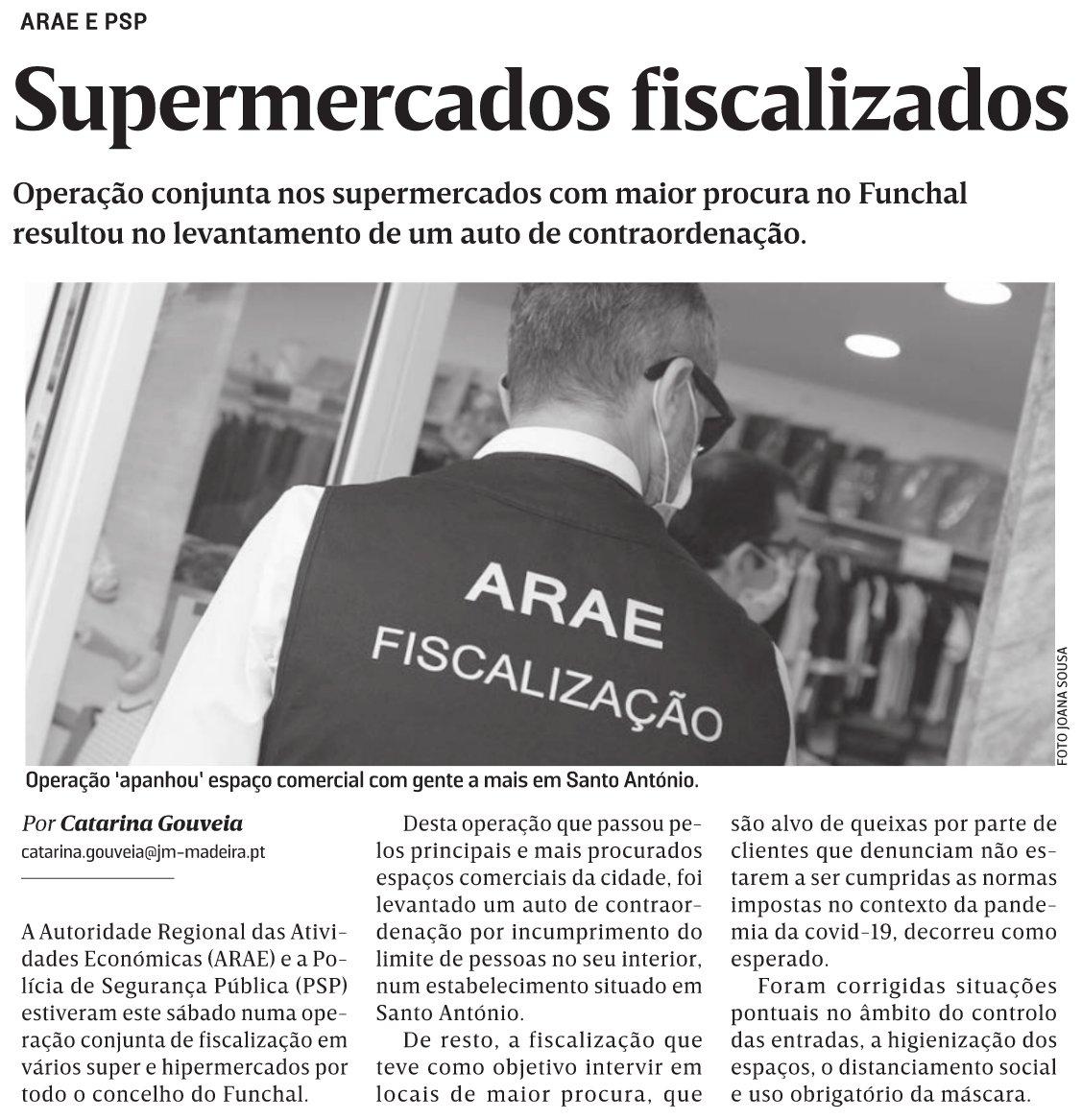 in JM-Madeira, edição de 13/12/2020