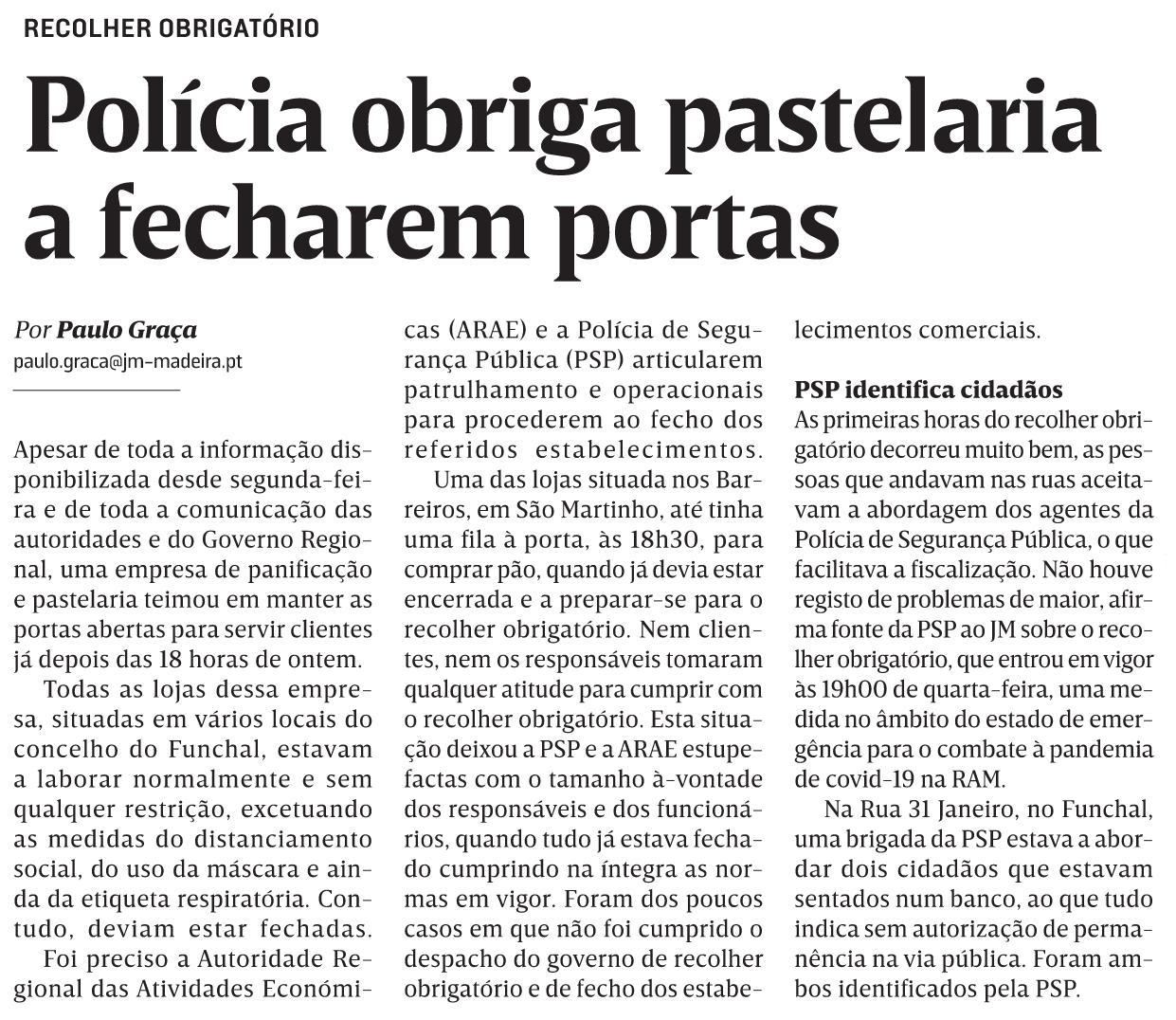 in JM-Madeira, edição de 14/01/2021