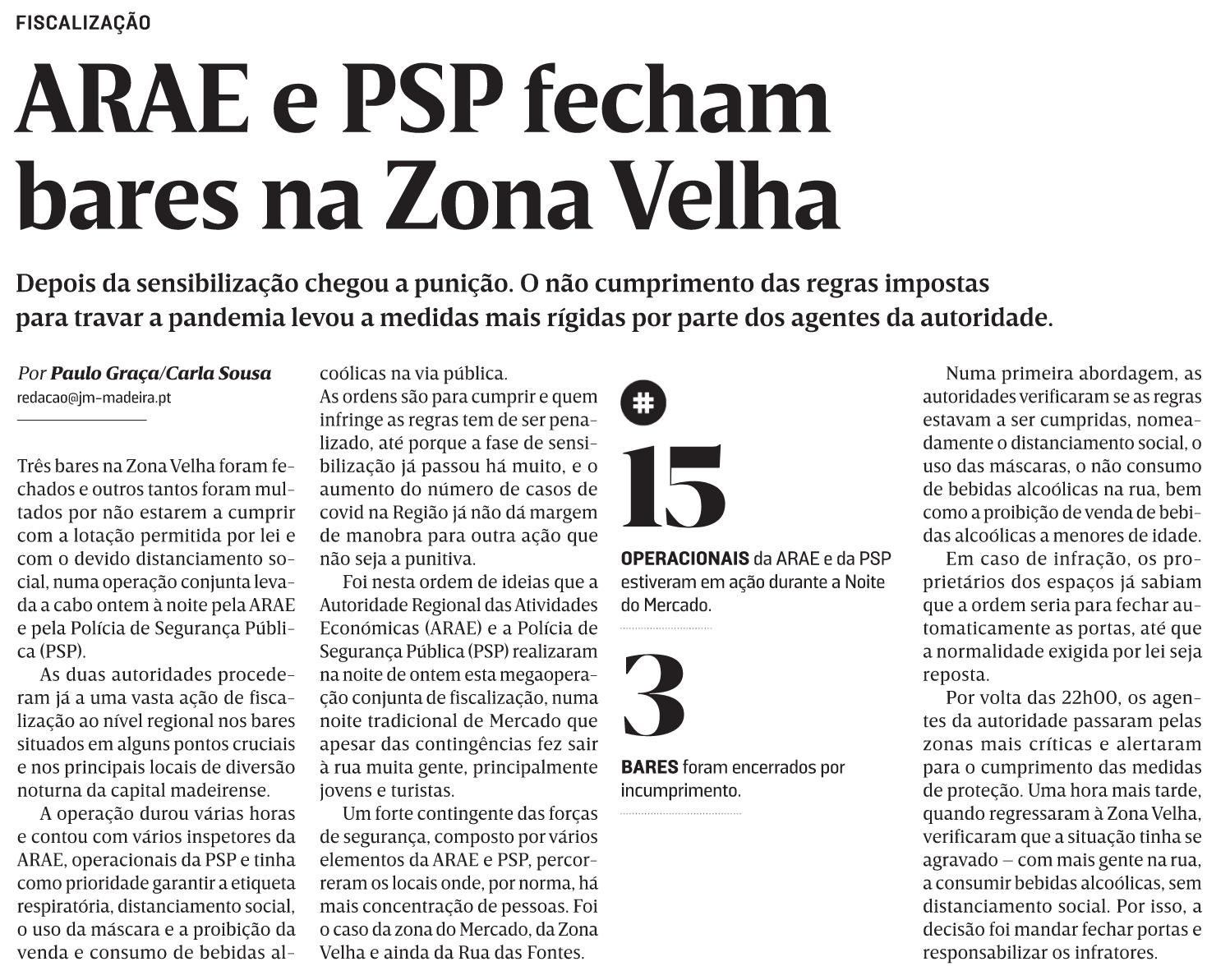 in JM-Madeira, edição de 24/12/2020