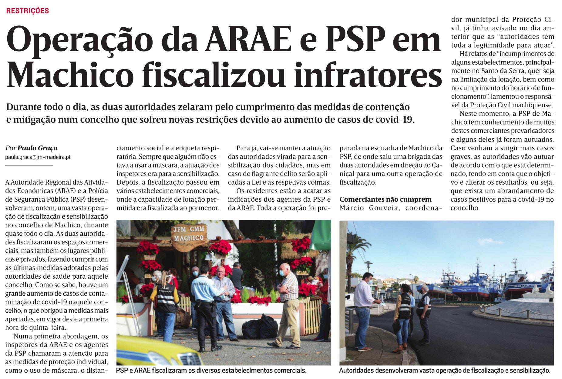 in JM-Madeira, edição de 11/12/2020
