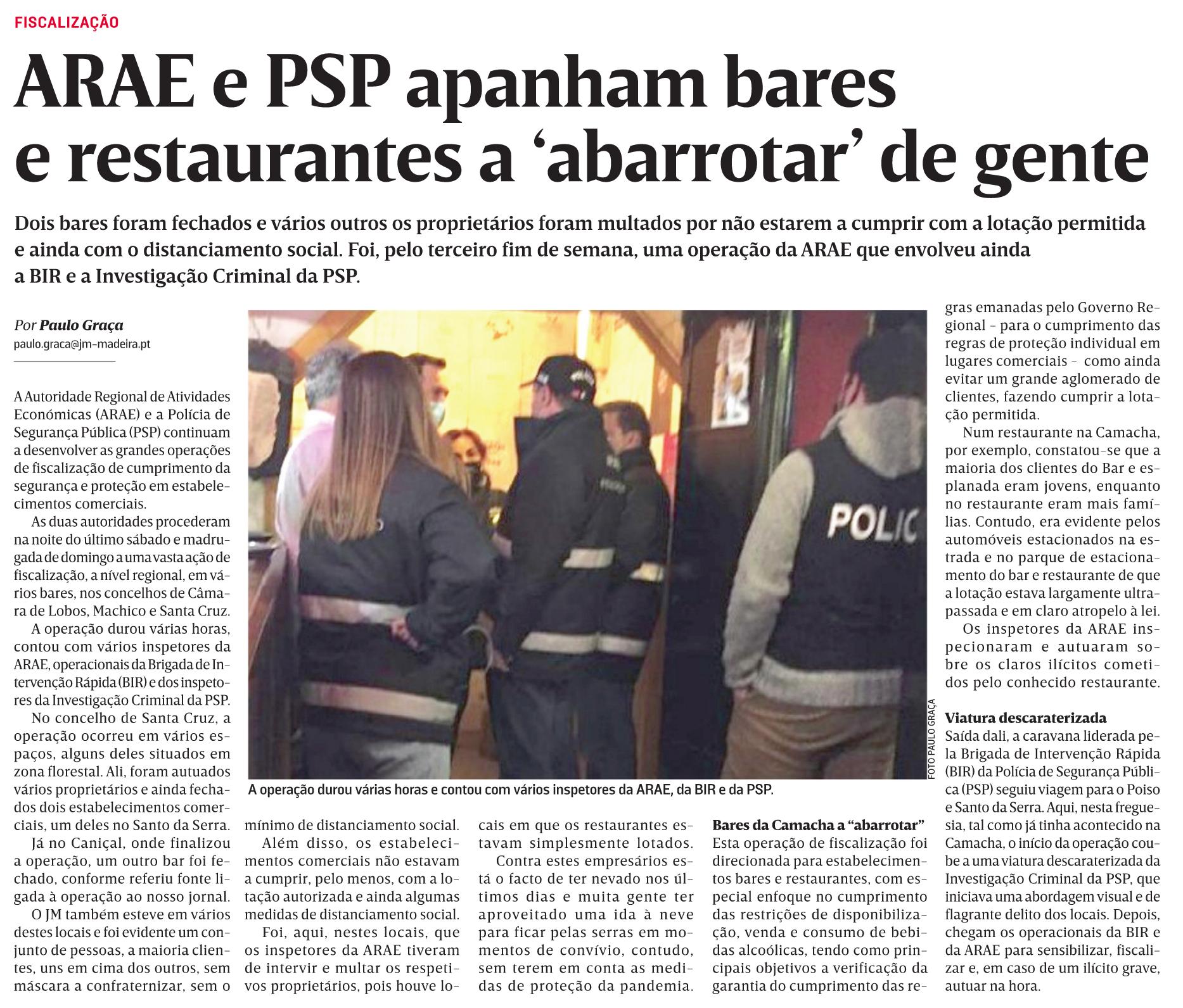 in JM-Madeira, edição de 30/11/2020