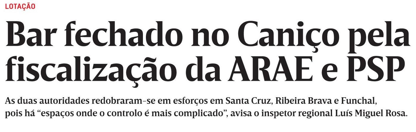 in JM-Madeira, edição de 06/12/2020