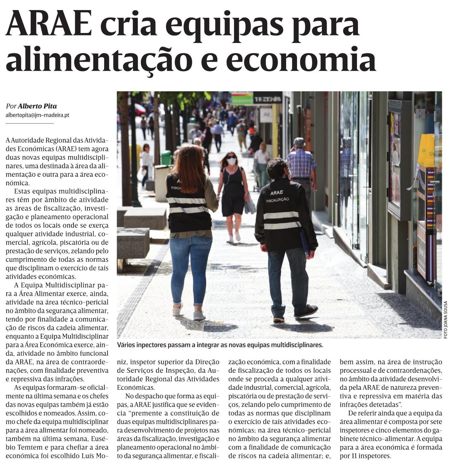 in Diário de Notícias da Madeira, edição de 03/12/2020