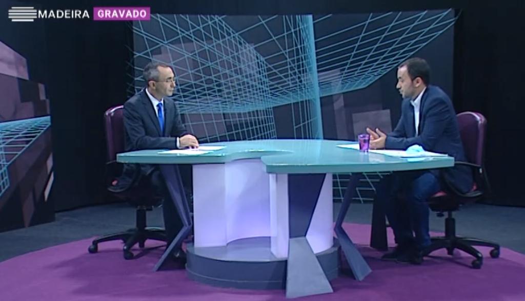 """Programa """"Em Entrevista"""" da RTP Madeira, edição de 20/11/2020"""