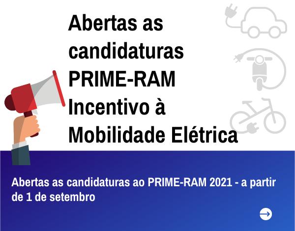 Abertas as candidaturas ao PRIME-RAM 2021