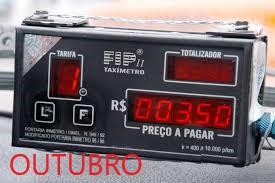 OUTUBRO - Verificação metrológica de taxímetros