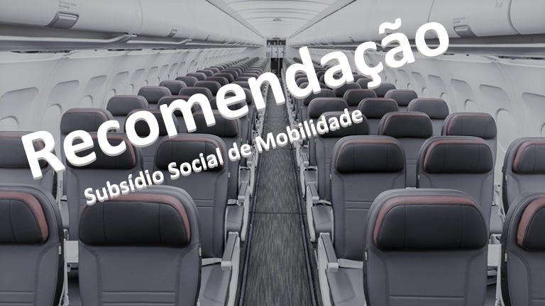 Recomendação -  Subsídio Social de Mobilidade
