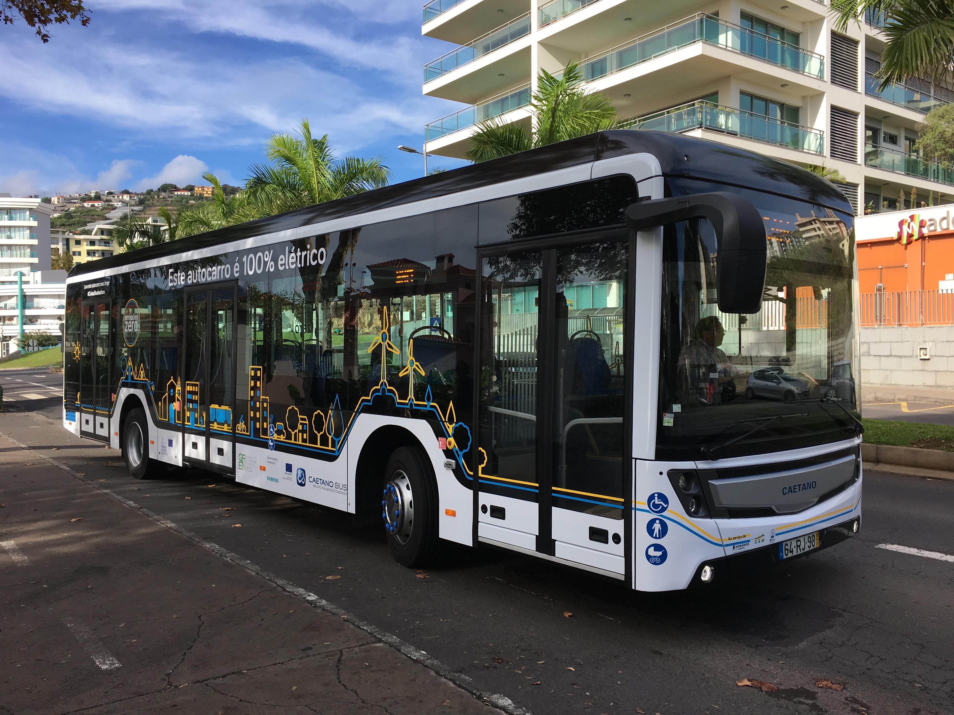 Autocarro elétrico e.City Gold