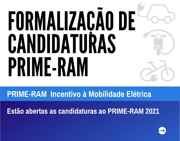 Estão abertas as candidaturas ao PRIME-RAM 2021