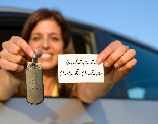 Revalidação da Carta de Condução