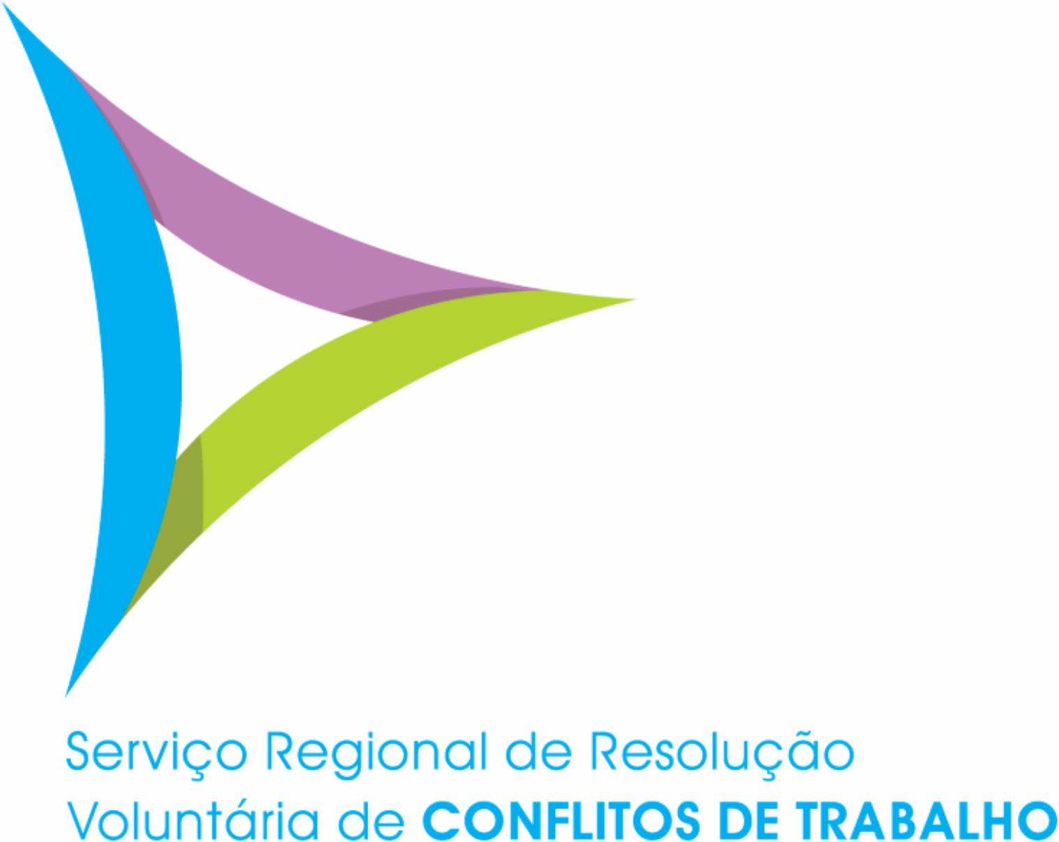 Folheto do SERVIÇO REGIONAL DE RESOLUÇÃO VOLUNTÁRIA DE CONFLITOS TRABALHO